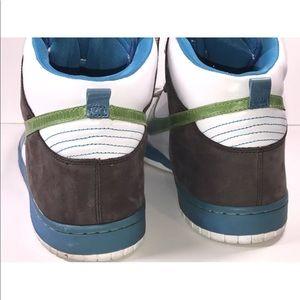 nike Shoes - Nike High Tops Air Force One Men's 15 Blue Green